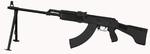 ММГ пулемет РПК-74М приклад пласт