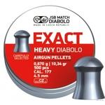 Пули JSB Diabolo Exact Heavy Diabolo 4,52 мм, 0,67 гр. 500 шт.