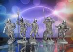 """Оловянные солдатики """"Рыцари"""" v.6"""