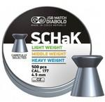 Пули JSB SCHaK 4,5 мм, 0,475 гр. 500 шт.