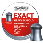 Пули JSB Diabolo Exact Heavy Diabolo (500 шт) 4,52 мм, 0.67 г