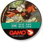 Пули Gamo Нunter (250 шт) 4,5 мм, 0.49 г