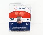 Пули Crosman Wadcutter (500 шт) 4,5 мм, 0.48 гр