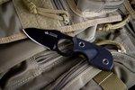 Нож Kizlyar Supreme Amigo X AUS-8 Black Titanium