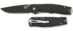Нож складной Benchmade 890 TORRENT, черное лезвие, 890BK