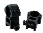 Кольца Leapers 25,4 мм для установки на WEAVER, STM, высокие