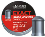Пули JSB Jumbo Monster Diabolo 1,645 гр, 5,5 мм (200 шт.)