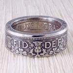 Кольцо из монеты (Великобритания) Флорин Елизаветы II