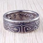 Кольцо из монеты (Непал) 1 рупия