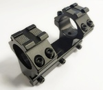 Кронштейн моноблок Patriot 25,4 мм, L-80 мм, ласточкин хвост, с Weaver